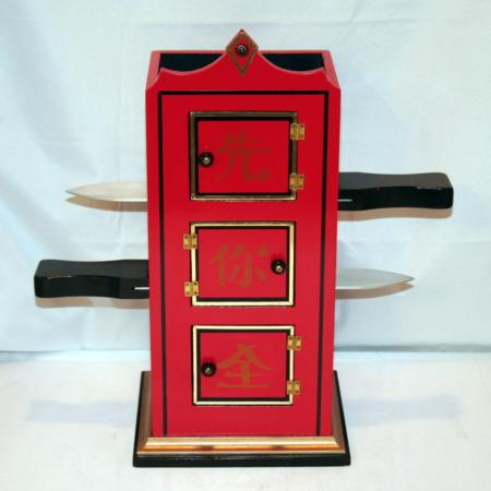 Chinese Flame Clock by Milson-Worth