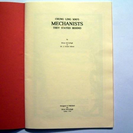 Chung Ling Soo's Mechanists by Brian McCullagh, J. Ernest Aldred