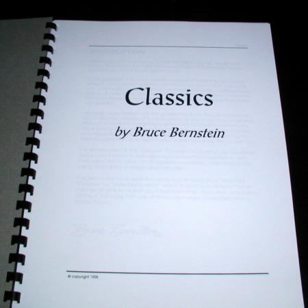 Classics by Bruce Bernstein
