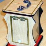 Clatter Box (Hard Wood Board) by Wonder Magic