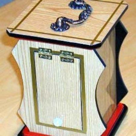 Clatter Box (Hard Wood Board) by Wonder Magic