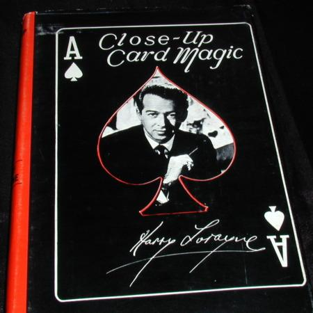 Close-up Card Magic by Harry Lorayne