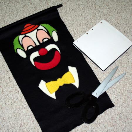 Clown Caper by Alan Warner