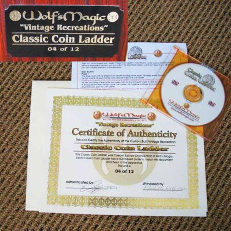 Classic Coin Ladder by Wolf's Magic