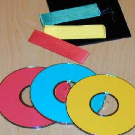 Color Changing CD's by Turley Magic Co.