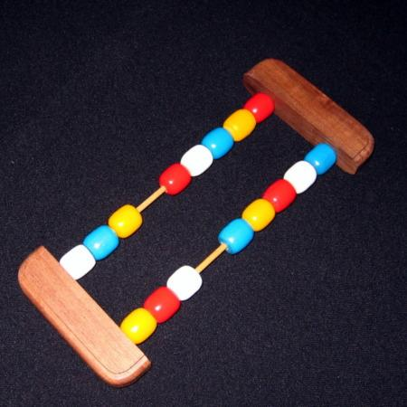 Color Forcing Abacus by Bill Tresslar