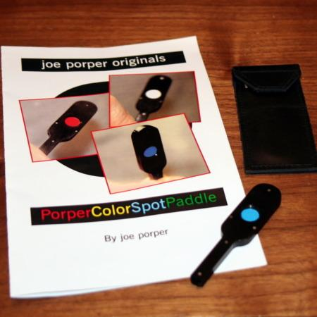Color Spot Paddle by Joe Porper