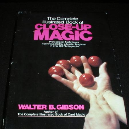 Review by Dell Wolfensparger for The Complete Illustrated Book of Close-up Magic by Walter B. Gibson