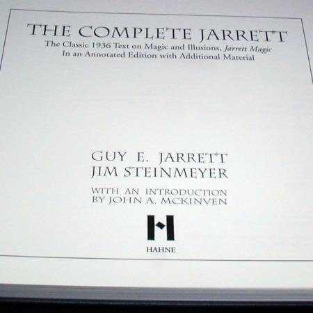 Complete Jarrett, The by Guy Jarrett/Jim Steinmeyer