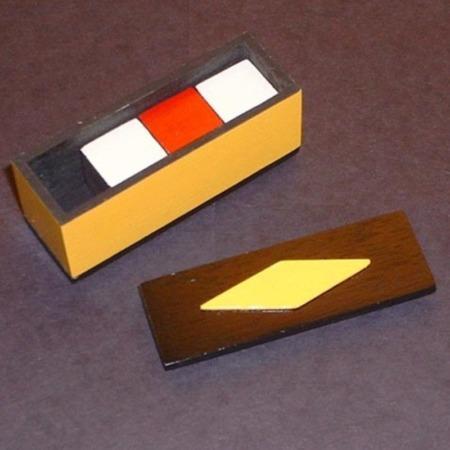 Confus'n Cubes (Painted) by Alan Warner
