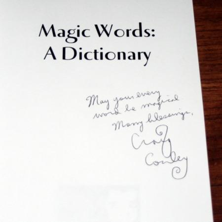 Magic Words - A Dictionary by Craig Conley