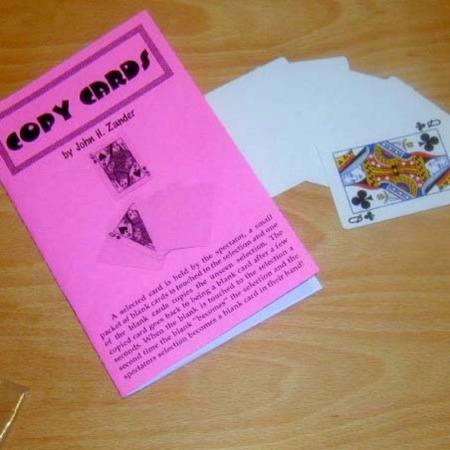 Copy Cards by John Zander