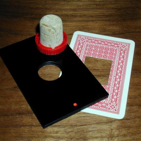 Review by Keith Noaker for Round Peg - Square Hole (Cork Thru Card)  by Harry Stanley