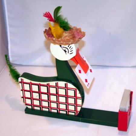 Gwendolyn Card Picking Duck (Early) by Warren Hamilton