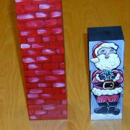 Crazy Santa Claus by Custom
