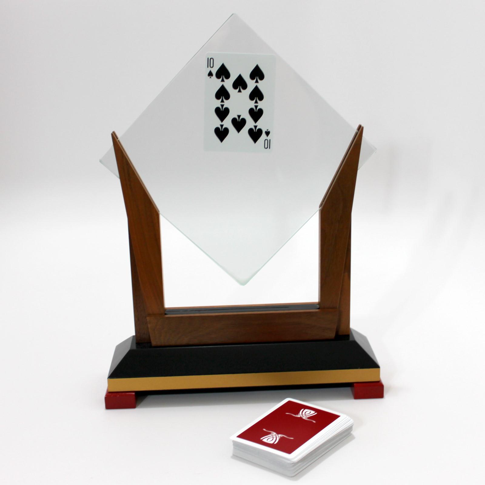 Crystal Card Catch by Owen Magic Supreme