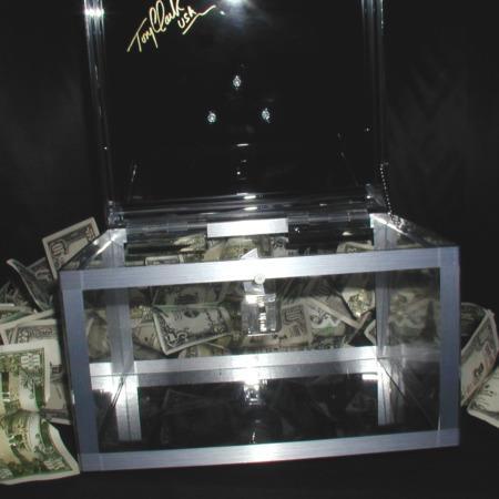 Crystal Dove Box by Tony Clark