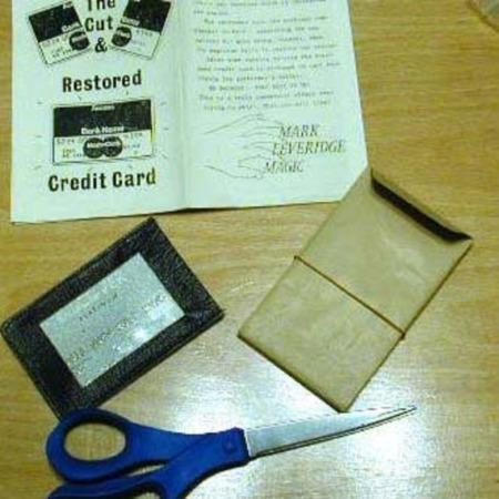 Cut and Restored Credit Card by Mark Leveridge