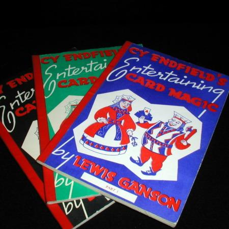 Cy Endfield's Entertaining Card Magic I by Lewis Ganson