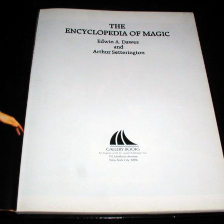 Encyclopedia of Magic, The by Edwin A. Dawes, Arthur Setterington