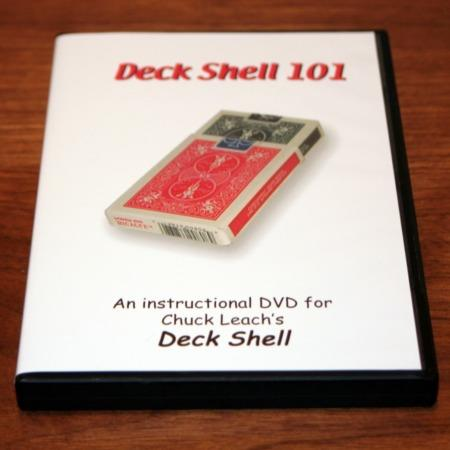 Deck Shell DVD by Chuck Leach