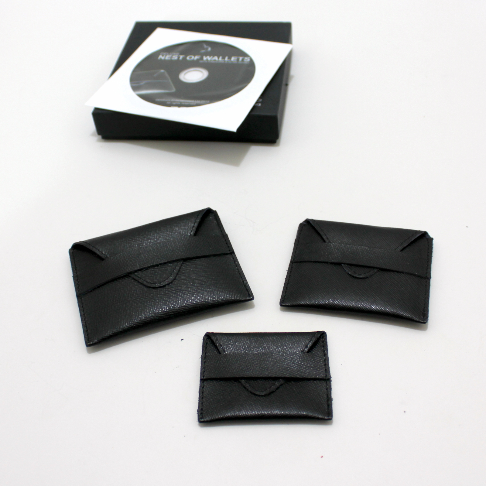 Deluxe Nest of Wallets by Nick Einhorn, Alan Wong