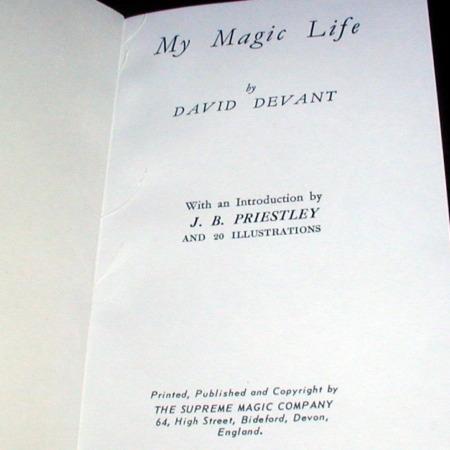My Magic Life by David Devant