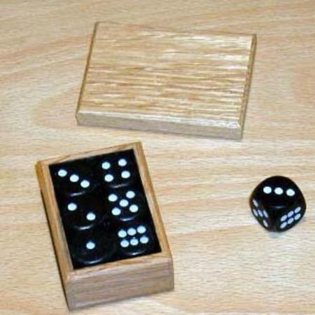 Dice Changing Box (Collector's) by Trickery