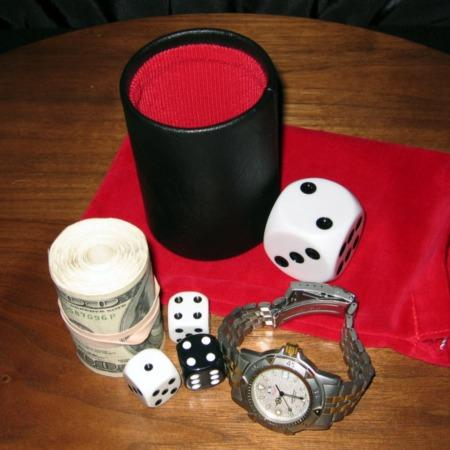 Dice Chop Cup by Stephane Bourgoin