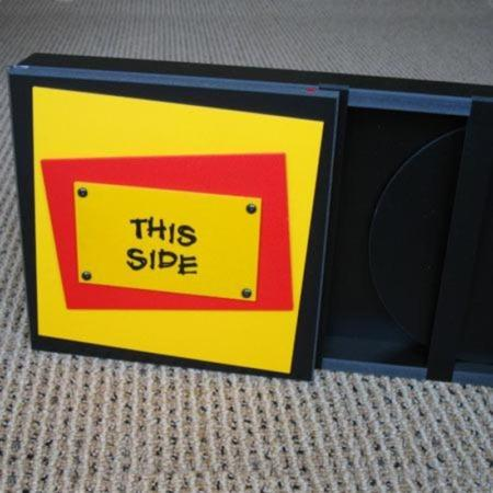 Sliding Disc Box by Bill Mitchell