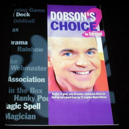 Dobson's Choice The Sequel by Wayne Dobson