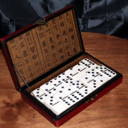 Chinese Domino Prediction by Unknown