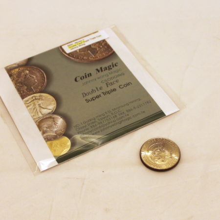 Super Triple Coin (Double Face) by Johnny Wong
