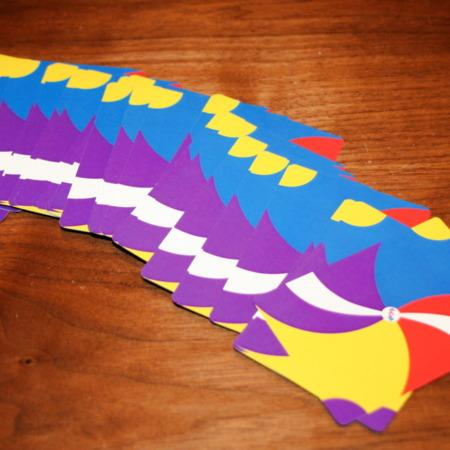 Double Sided Fanning Cards by John Blake