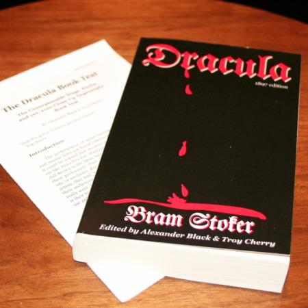 Dracula Book Test by Alexandar Black, Troy Cherry
