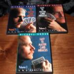 Easy To Master Card Miracles - Vols. 1-3 DVD by Michael Ammar