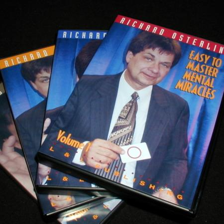 Easy to Master Mental Miracles - Vols. 1-4 DVD by Richard Osterlind