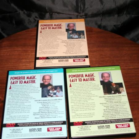 Easy To Master Card Miracles - Vols. 7-9 DVD by Michael Ammar