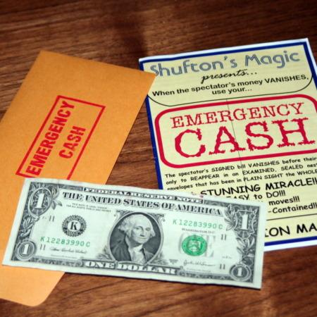 Review by Steve Cook for Emergency Cash by Steve Shufton
