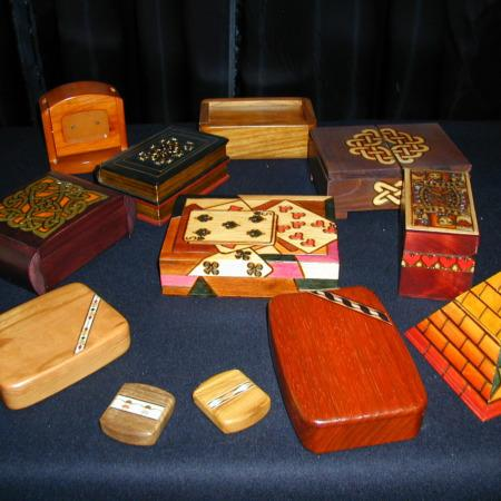 Wooden Boxes by Enchanted World of Boxes