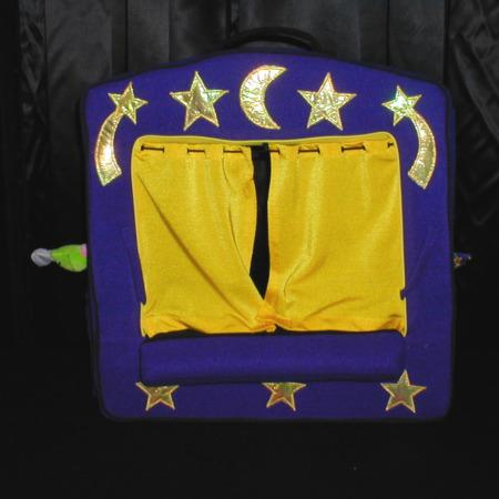 Enchanted Finger Puppet Theater Set by Manhatten Toy