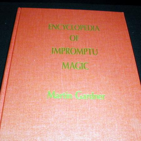 Review by Davide for Encyclopedia of Impromptu Magic, The by Martin Gardner