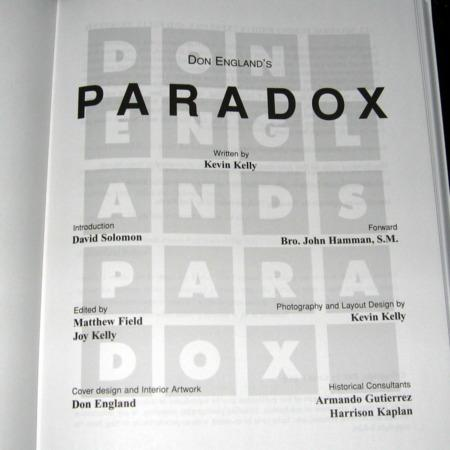 Don England's Paradox by Kevin Kelly
