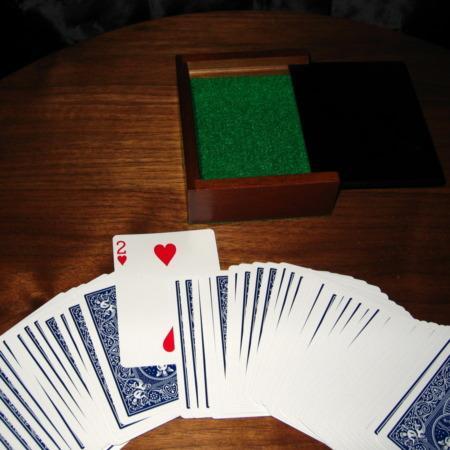 English Card Box by Viking Mfg.