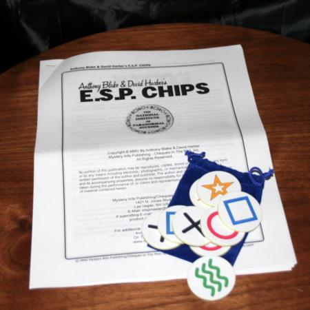 E.S.P. Chips by Anthony Blake, David Harber