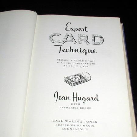 Expert Card Technique by Hugard & Braue