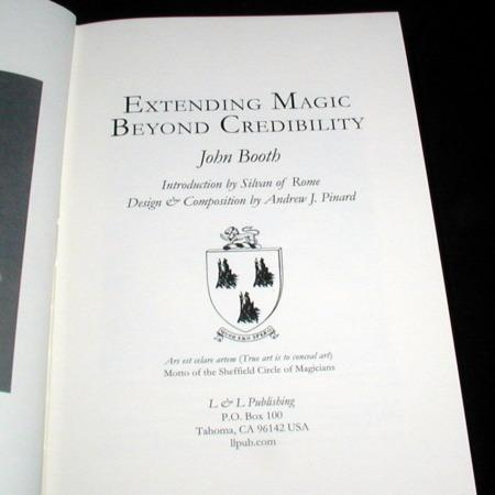 Extending Magic Beyond Credibility by John Booth
