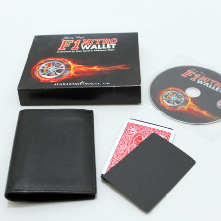 F1 Nitro Wallet (Red) by Alakazam Magic
