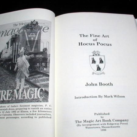 Fine Art of Hocus Pocus, The by John Booth