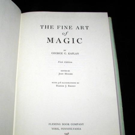 Fine Art of Magic by George G. Kaplan